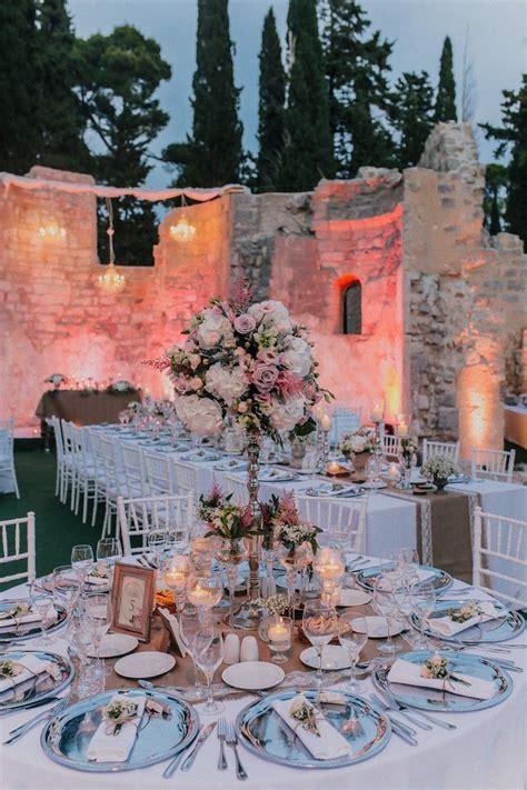 Stunning Lorkum Island Wedding   Dubrovinik Croatia in the