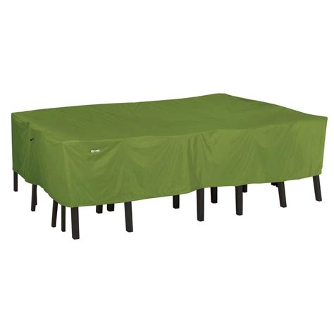 Cover For Patio Table And Chairs Classic Accessories Sodo Small Rectangular Oval Patio Table And Chair Set Cover 55 342 031901 Ec