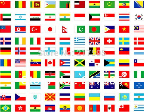 Home Decor Home Based Business national flags complete set of whole world 200 country or