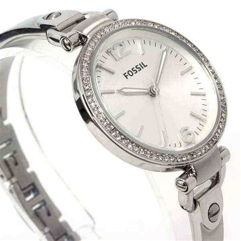 Jam Tangan Fossil Es2362 Stainless Steel Silver jual jam tangan wanita fossil es3225 stainless steel baru jam fossil