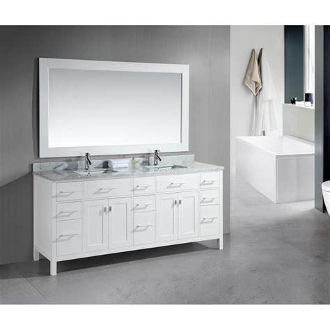 Best Deals On Bathroom Vanities by 78 Inch Sink White Vanity Set