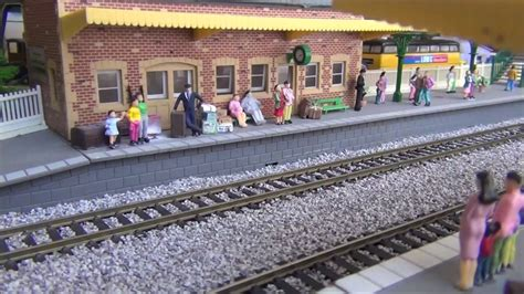 oo layout youtube tanningcote town british oo gauge model railway layout