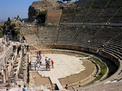 Charming Church Of Ephesus History #7: The_Great_Theatre_in_Ephesus%2C_Turkey.jpg