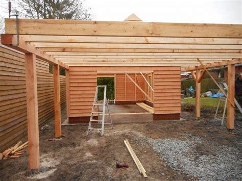 dak voor schuur carport met plat dak en schuur dakpan klaar deze schuur is