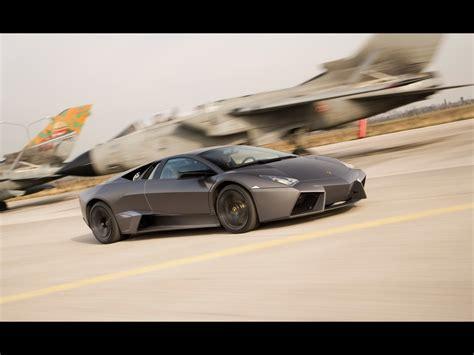 Lamborghini Fighter Jet 2008 Lamborghini Reventon Vs Tornado Jet Fighter Front