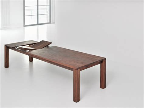 Extending Wood Dining Table Classic Extending Dining Table From Solid Wood