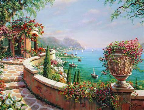 cuadros de paisaje cuadros pinturas arte cuadros paisajes primaverales