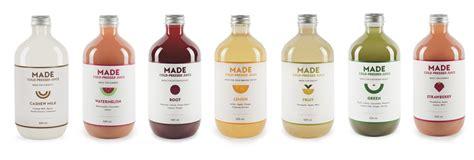 Australian Detox Juice by Made Juice The Dieline Branding Packaging