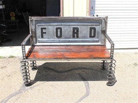 truck bench ford tailgate bench truck tail gate benches reclaimed