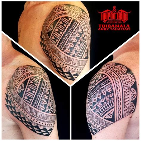 fijian tribal tattoo fijian masi shoulder poly based ideas