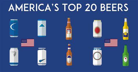 most popular light beer the 20 most popular beers in america vinepair