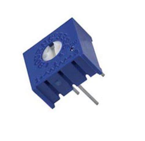 3386 Series 3386p 3386p 1 102 Trimpot Variabel Resistor Presisi 102 1k trimmer pots west florida components