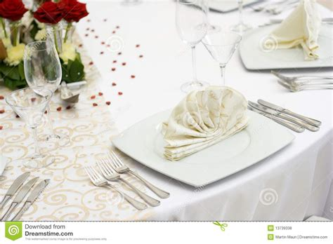 fancy place setting stock photo image of folded fancy elegant wedding table setting stock photo image of