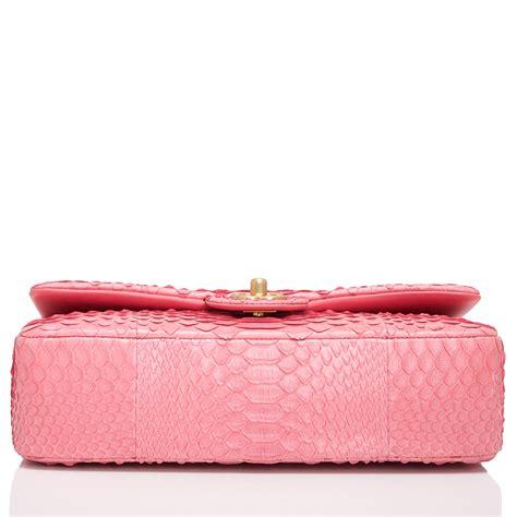 Chanel Anak Pink K chanel pink python large charm flap bag world s best