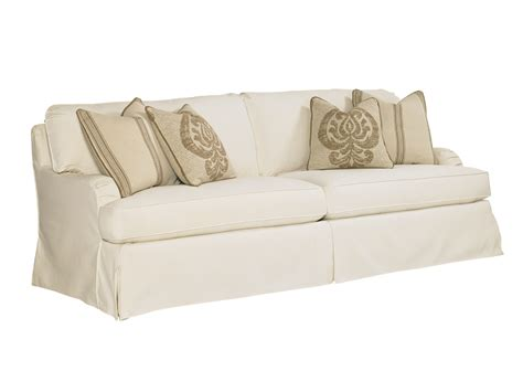 Coventry Hills Stowe Slipcover Sofa Cream Lexington