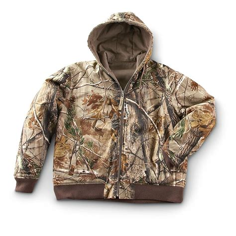 guide gear 174 realtree 174 wrangler progear 174 reversible jacket realtree 174 ap