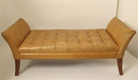 leather benches for sale classical style leather bench for sale at 1stdibs
