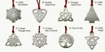 celtic christmas ornaments and holiday gifts any gemstone metal size designs great