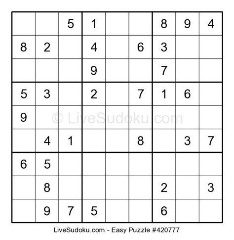 printable easy sudoku live sudoku easy sudoku 420777