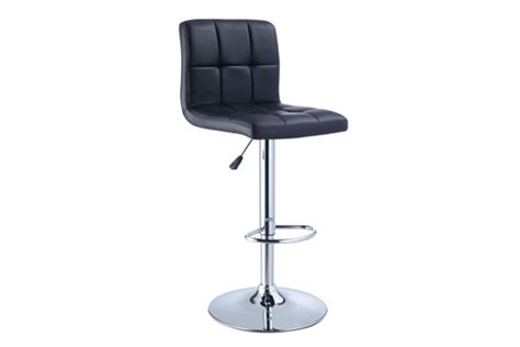 Gardner White Bar Stools by Quilted Black Bar Stool At Gardner White