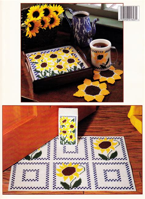 What Do You Make Of This Jackie Canvas Bag By All Saints by Sunflowers In Plastic Canvas Tissue Box Rug Coasters