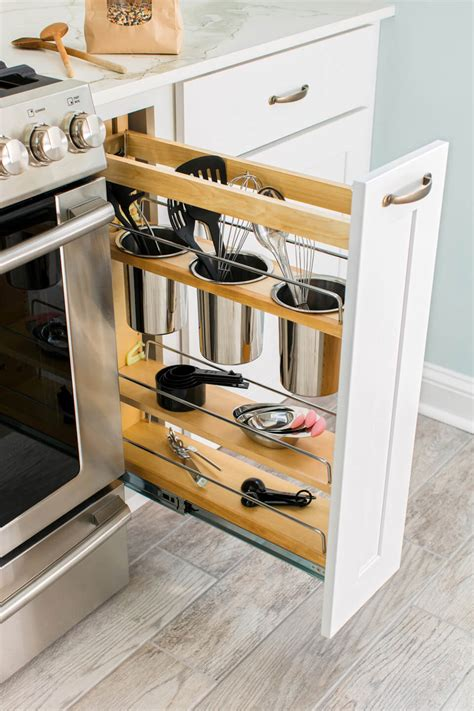 Storage Ideas For A Small Kitchen 35 Best Small Kitchen Storage Organization Ideas And Designs For 2017