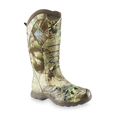 mens camo muck boots the original muck boot company s pursuit stealth cool