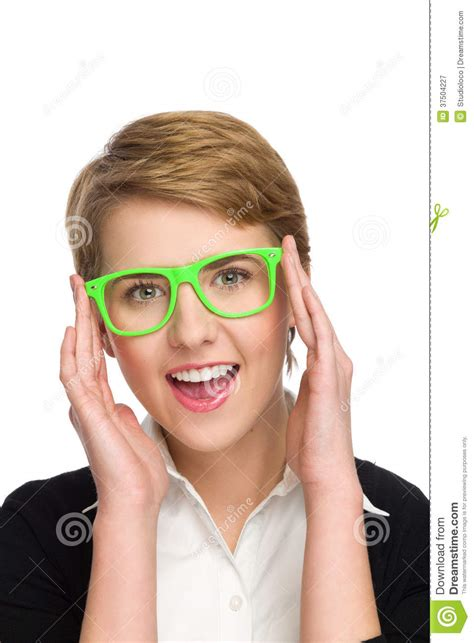 My New by I My New Glasses Royalty Free Stock Photography