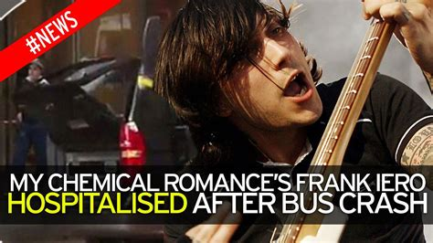 my chemical valentines cards my chemical s frank iero seriously injured and