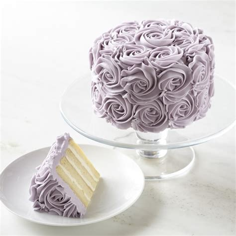 Lavender Rose Cake   Williams Sonoma