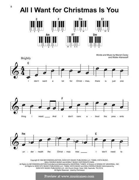 tutorial piano all i want for christmas is you all i want for christmas is you by m carey w afanasieff
