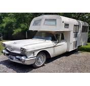 1958 Cadillac Eureka Camper Roughing It