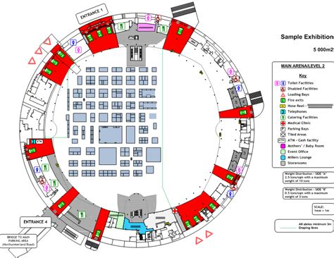 Home Office Layout exhibitions the ticketpro dome