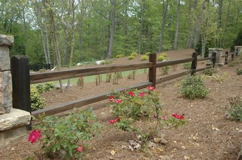 how to keep in yard without fence two rail split rail fence staple wire mesh to keep puppy in back yard keep the open view