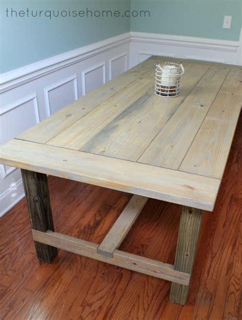 build own coffee table easy diy farmhouse table tutorial for less than 100