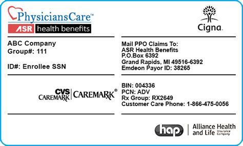 cigna insurance policy number on insurance card cigna infocard co