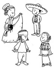 mexico coloring pages mexican traditional dress coloring pages global