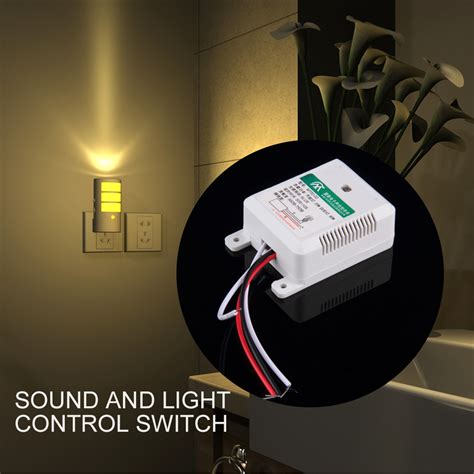 sound activated light switch 110v 220v electronic gadget hand light switches clapper