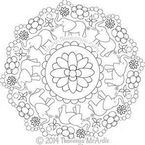 nature mandalas coloring book thaneeya mcardle thaneeya