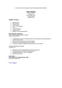 combined resume sle sle resumes administrative assistant sle resume for