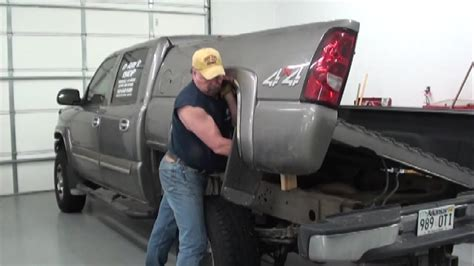 Pt.1 2007 Chevy Pickup Fuel Pump Replacement At D Ray's