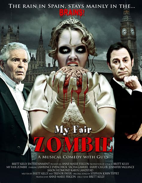 film zombie comedy terbaru my fair zombie movie poster i m a fan of this film idea