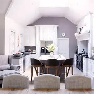 Home Goods Kitchen Island Open Plan Kitchen Diner With Co Ordinating Colour Scheme