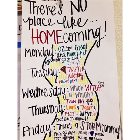 Themes For The Book Homecoming | wizard of oz homecoming theme idea spirit week