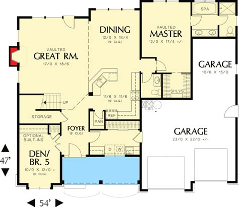 american west homes floor plans american farmhouse home plan 69055am architectural