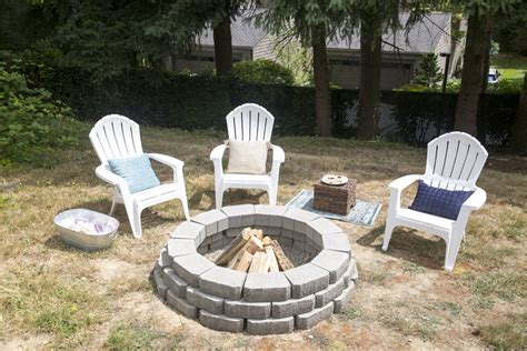 How To Make An Outdoor Firepit How To Build An Outdoor Pit