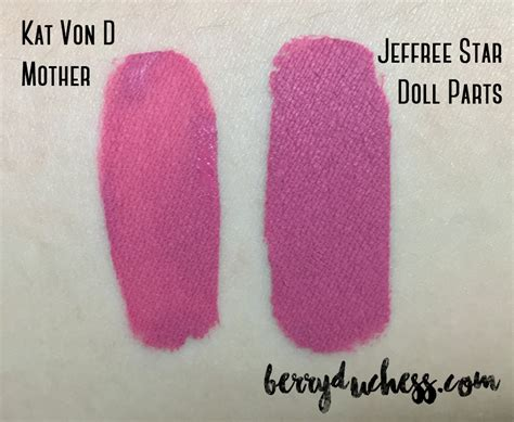 doll parts jeffree velour liquid lipstick in androgyny and doll