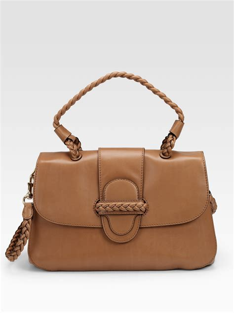 Valentino Histoire Bag by Valentino Histoire Single Handle Leather Shoulder Bag In