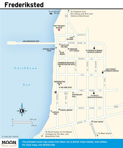 croix map itinerary 7 days in authentic st croix moon travel guides