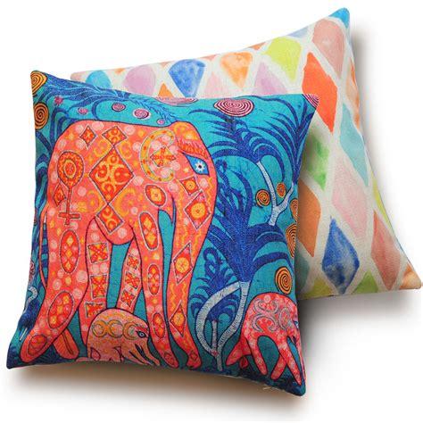 cute couch pillows aliexpress com buy cute cartoon elephant decorative
